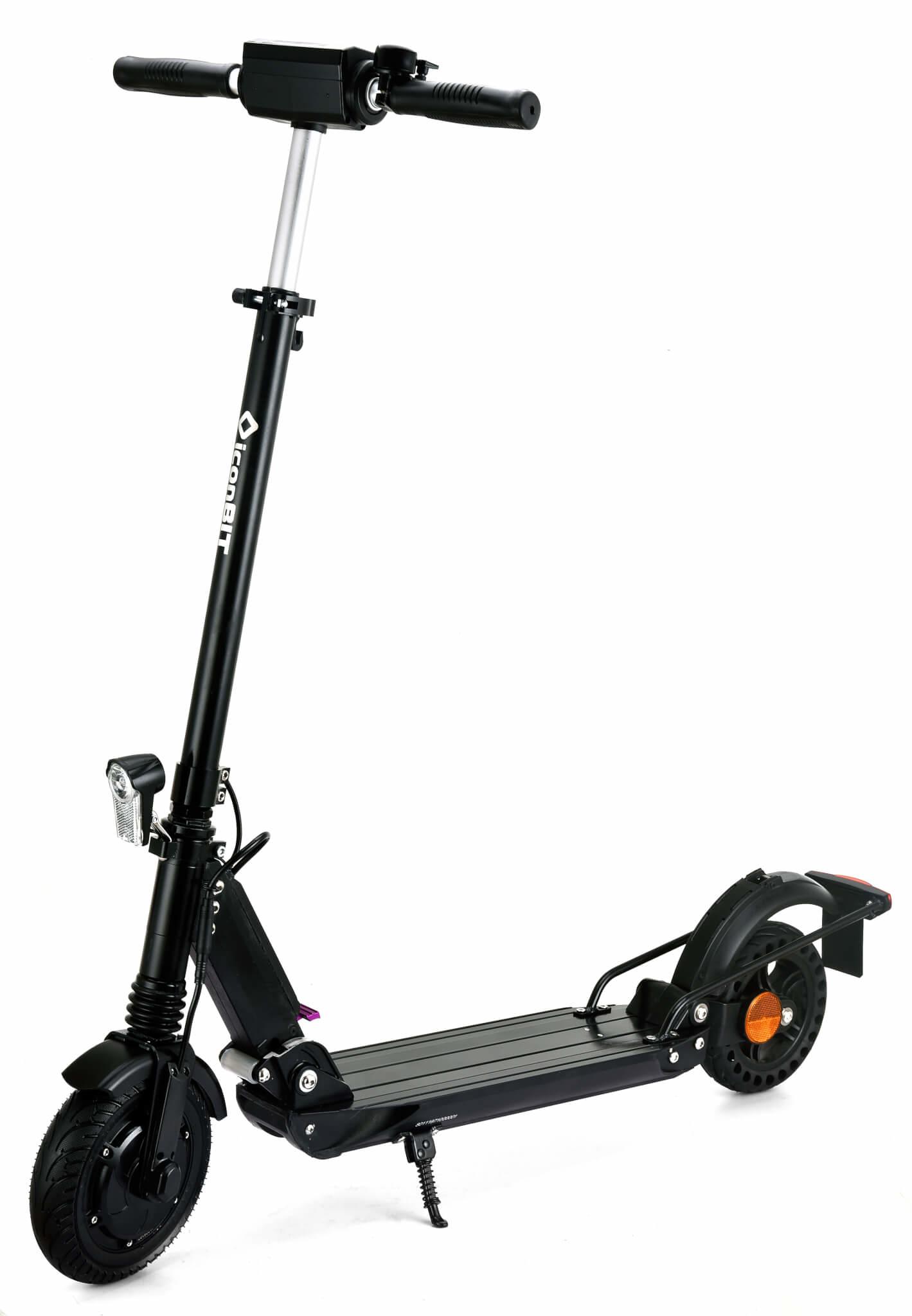 iconBIT Tracer Street - Stunt scooter - 20 km/h - 100 kg - Beide Geschlechter - Schwarz - 2 Rad/Räder