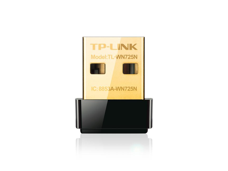 TP-LINK TL-WN725N - Netzwerkadapter - USB 2.0