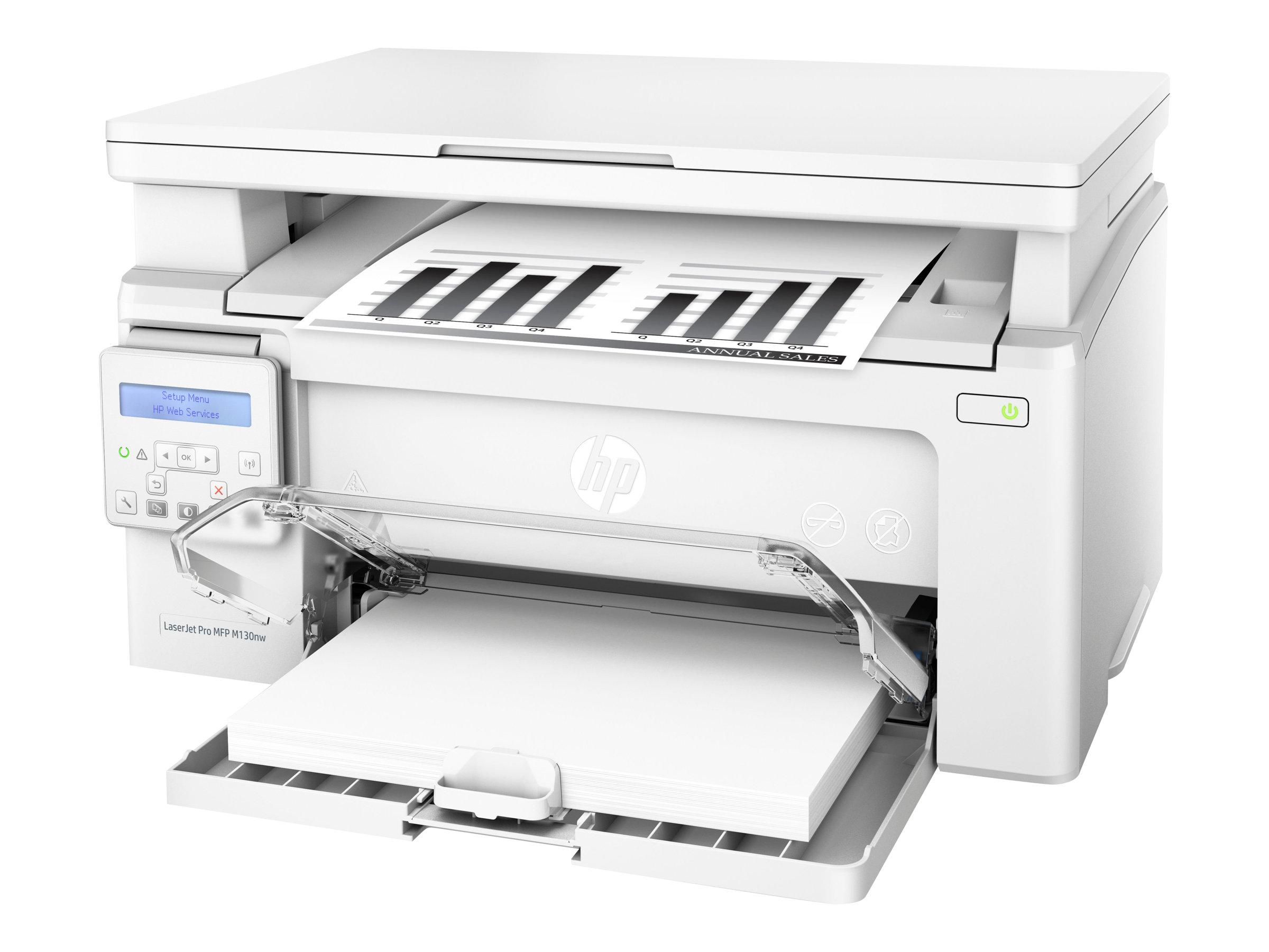 HP LaserJet Pro MFP M130nw - Multifunktionsdrucker - s/w - Laser - 215.9 x 297 mm (Original)