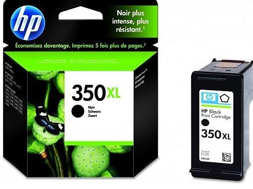 HP 350XL Schwarz Tintenpatrone