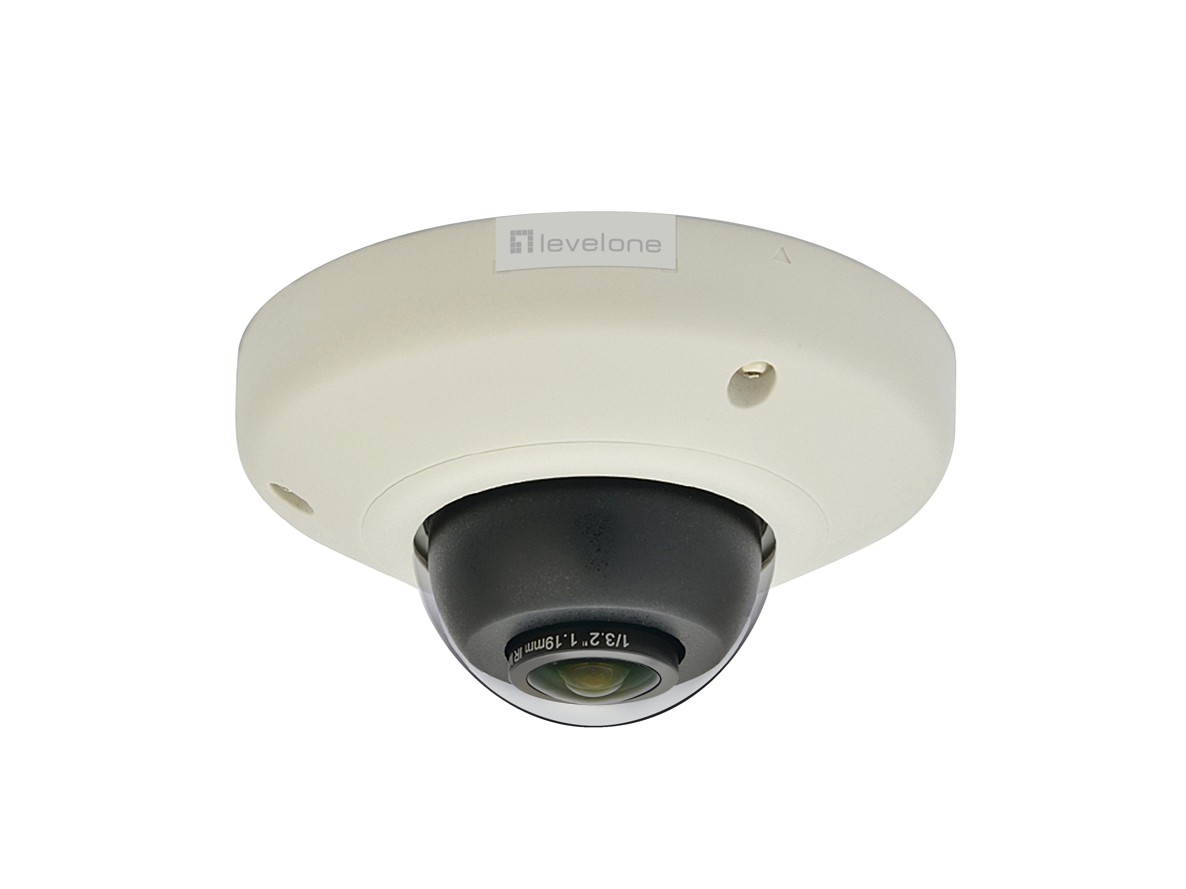 LevelOne Panoramic Dome Network Camera - 5-Megapixel - PoE 802.3af - WDR