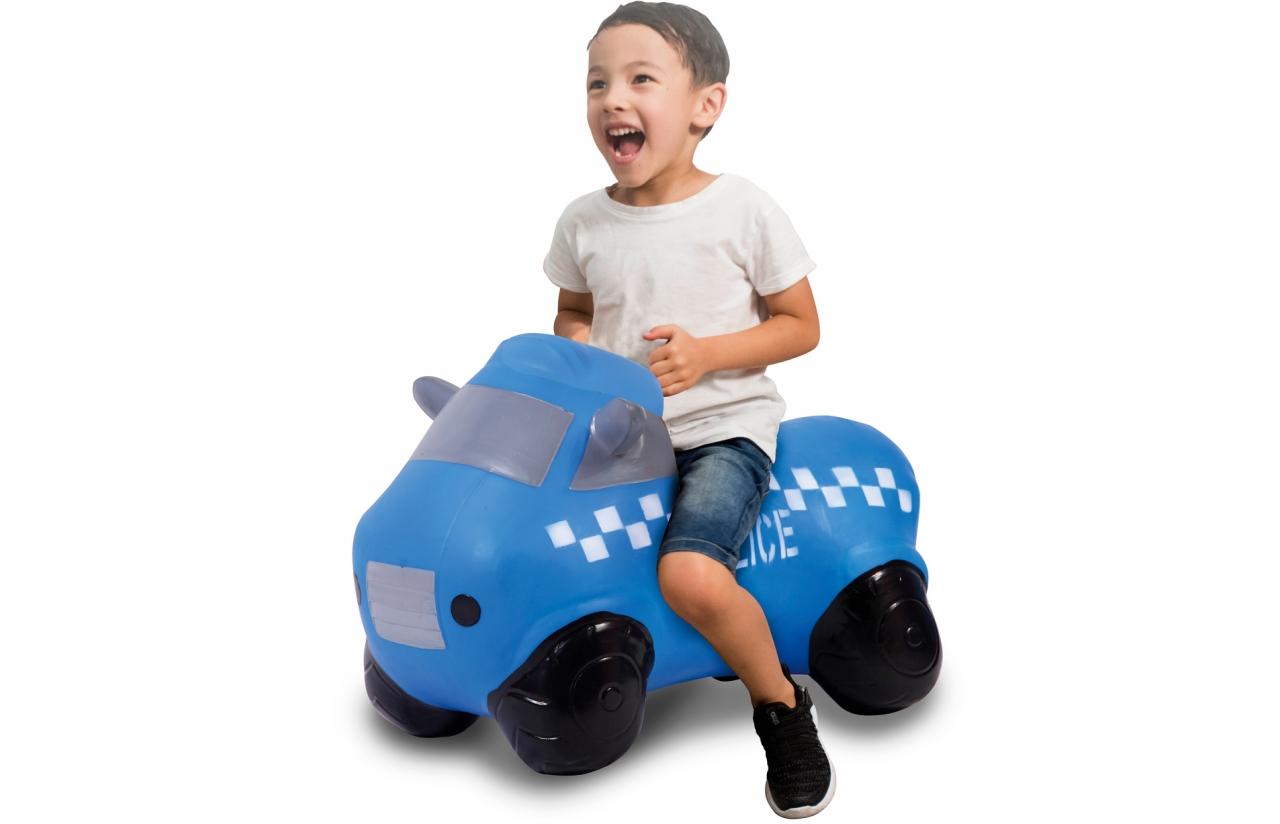 JAMARA Jumping Car Bouncer Police Truck - Junge/Mädchen - 1 Jahr(e) - Schwarz - Blau - 1,5 kg