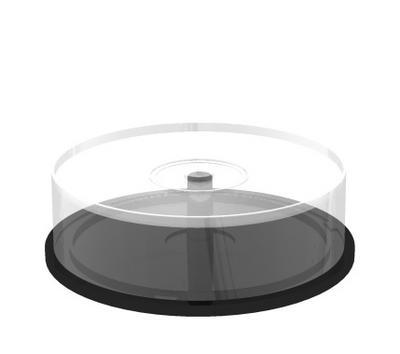MEDIARANGE BOX41 - Spindle case - 25 Disks - Transparent - Kunststoff - 120 mm - 1 Stück(e)