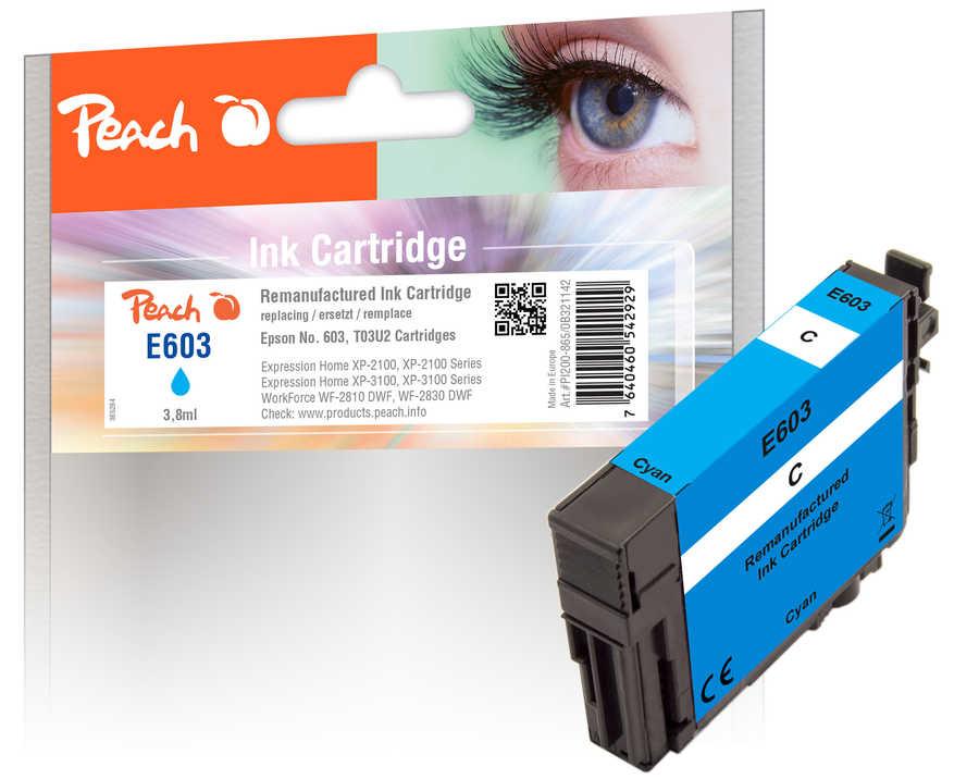 Peach Patrone Epson No. 603 cyan PEA T03U2 REM FW