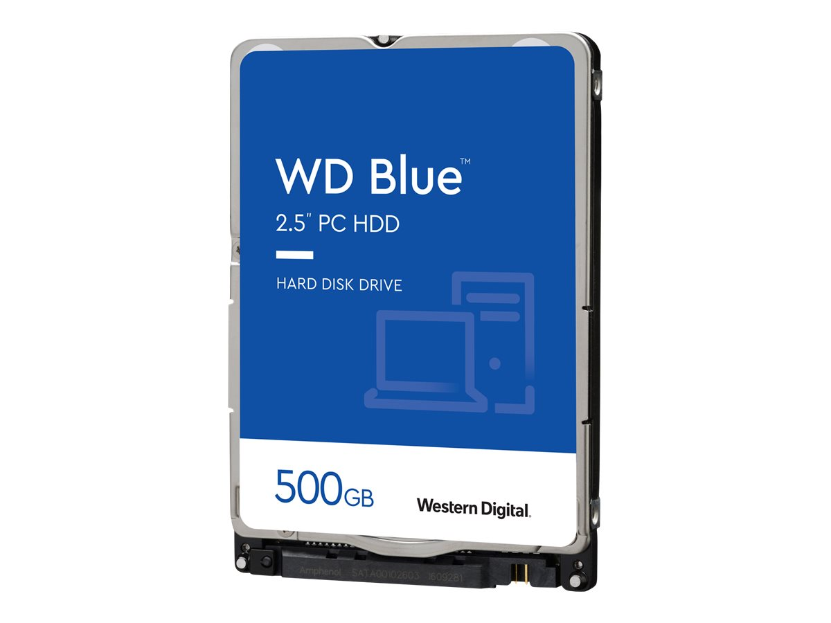 "WD Blue WD5000LPCX - Festplatte - 500 GB - intern - 2.5"" (6.4 cm)"