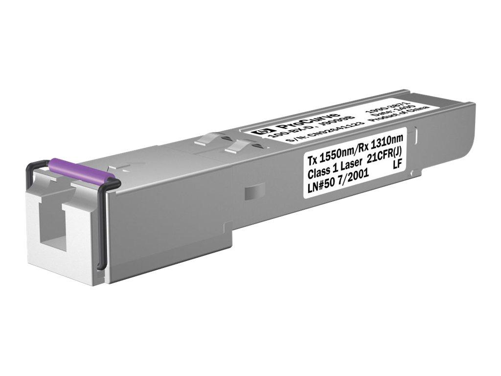 HP X112 100M SFP LC BX-D Transceiver (J9099B) - REFURB
