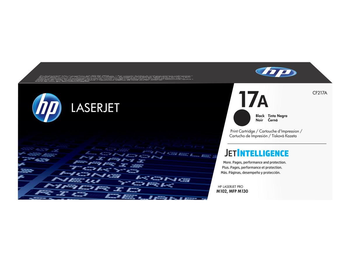 HP Toner black Nr. 17A (CF217A) ca. 1.600 Seiten