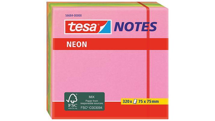 Tesa 56684 - 75 mm - 75 mm - 320 Blätter