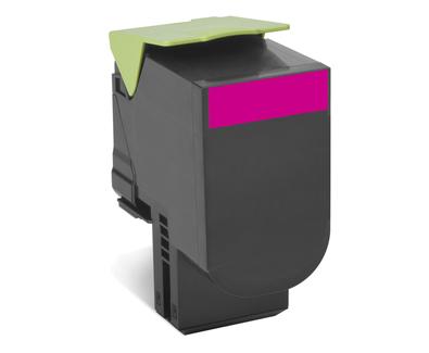 Lexmark 802SM Laser cartridge 2000Seiten Magenta