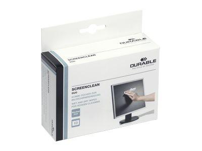 Durable Screenclean DUO - Reinigungstücher (Wipes)
