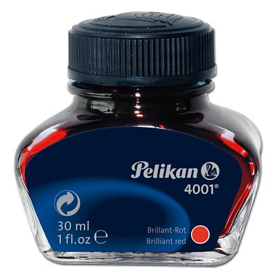 Pelikan 301036 - Rot - Schwarz - Transparent - 30 ml - 1 Stück(e)