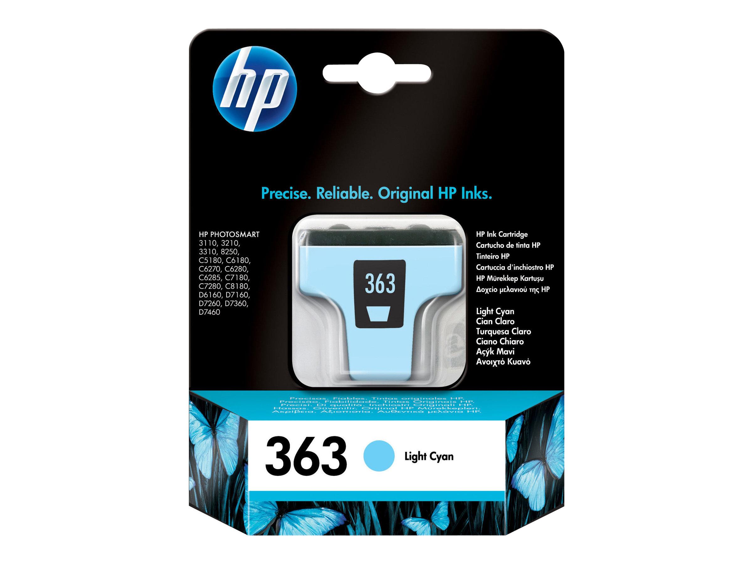 HP 363 - 5.5 ml - hell Cyan - Original - Tintenpatrone