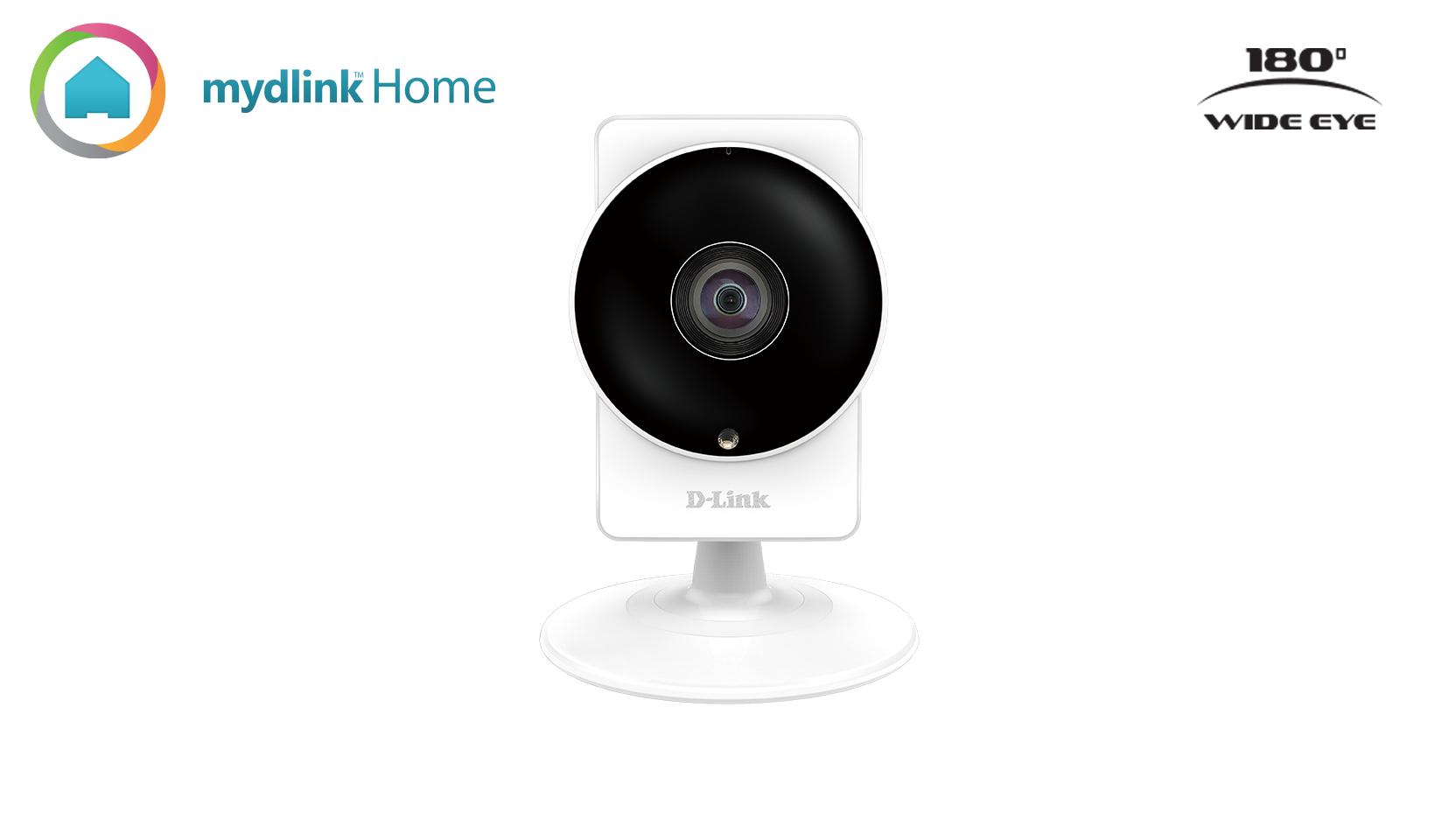 D-Link Mydlink Home Panoramic HD Camera - Netzwerk-Überwachungskamera - Farbe ( Tag&Nacht )