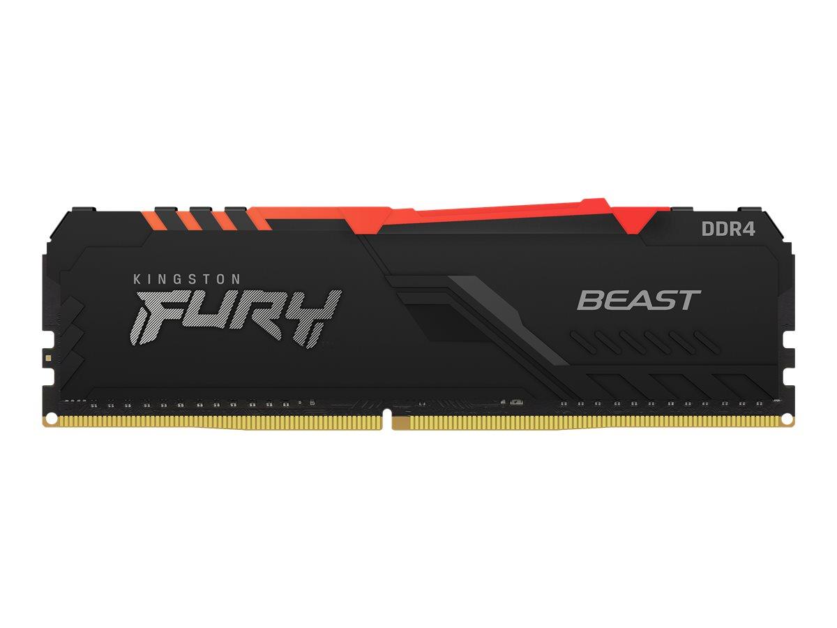 Kingston FURY Beast RGB - DDR4 - Kit - 32 GB: 2 x 16 GB