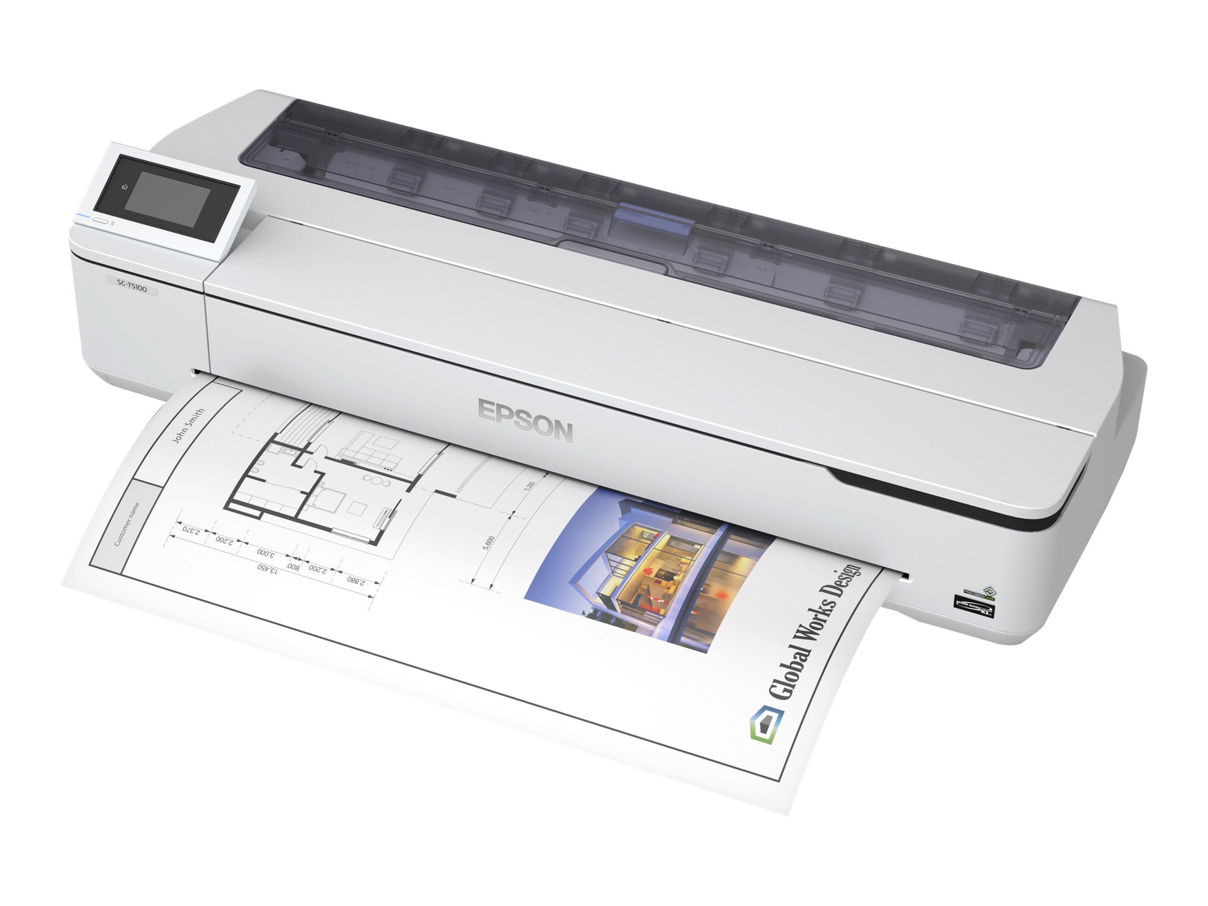 """Epson SureColor SC-T5100N - 914 mm (36"""") Gro?formatdrucker - Farbe - Tintenstrahl - Rolle (91,4 cm)"""