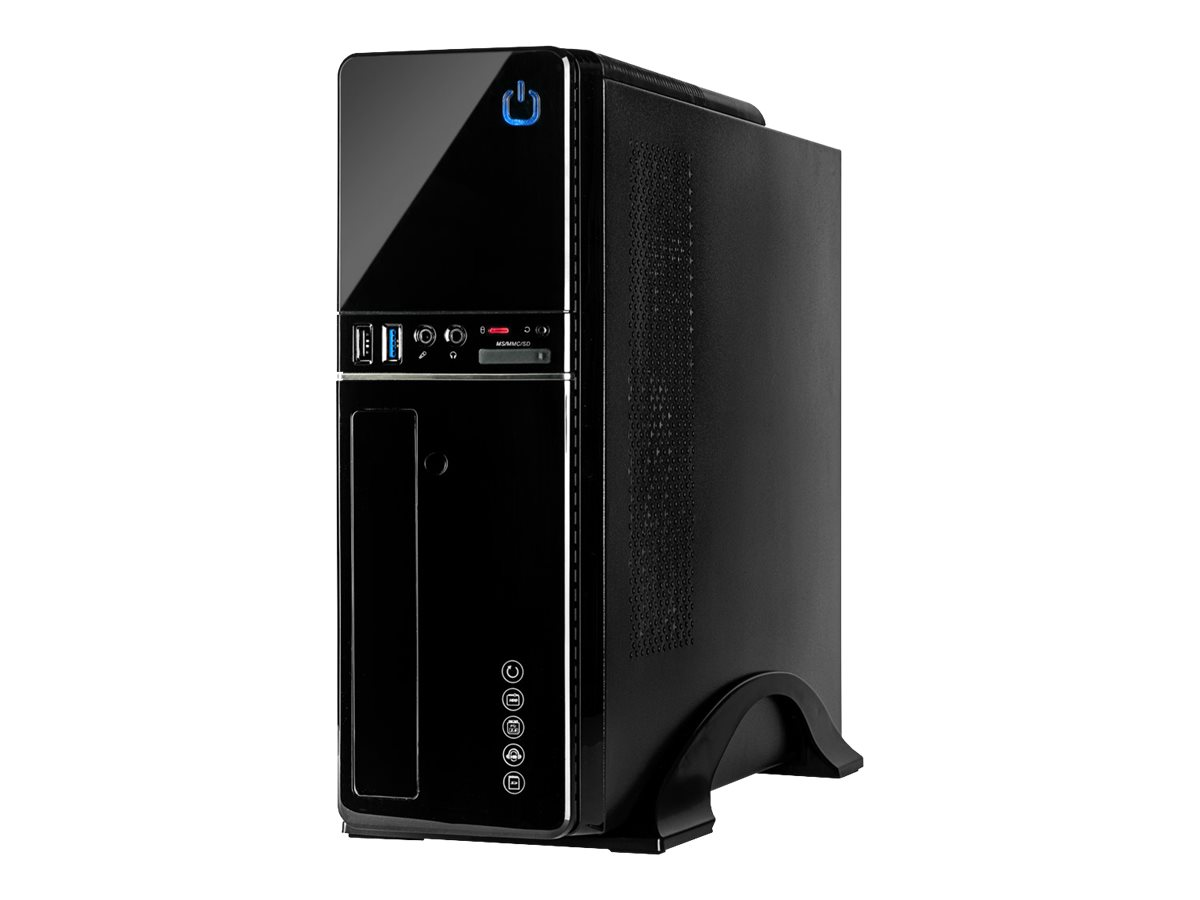Inter-Tech IT-607 - Tower - Mini-ITX