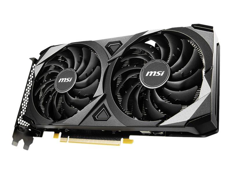 Vorschau: MSI GeForce RTX 3060 VENTUS 2X 12G OC - Grafikkarten