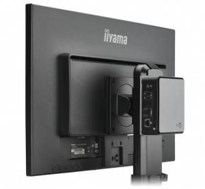 Iiyama MD BRPCV01 Desk stand CPU holder Schwarz CPU-Halterung
