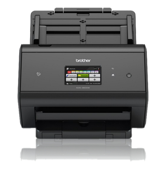 Brother ADS-3600W ADF scanner 600 x 600DPI A4 Schwarz Scanner
