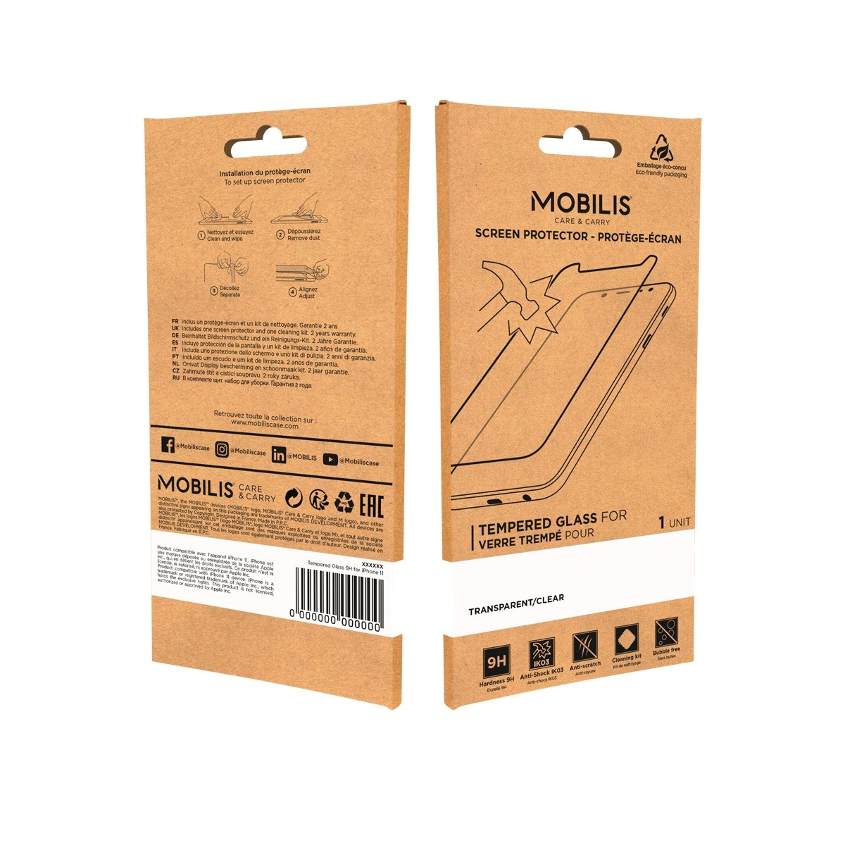 Mobilis Screen Protector Tempered Glass-9H-Galaxy A32 5G