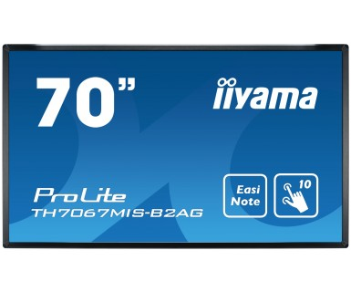 Iiyama ProLite TH7067MIS-B2AG - 178cm/70 Klasse ( 176.6cm/69.5 sichtbar ) LED-Display - interaktive Kommunikation