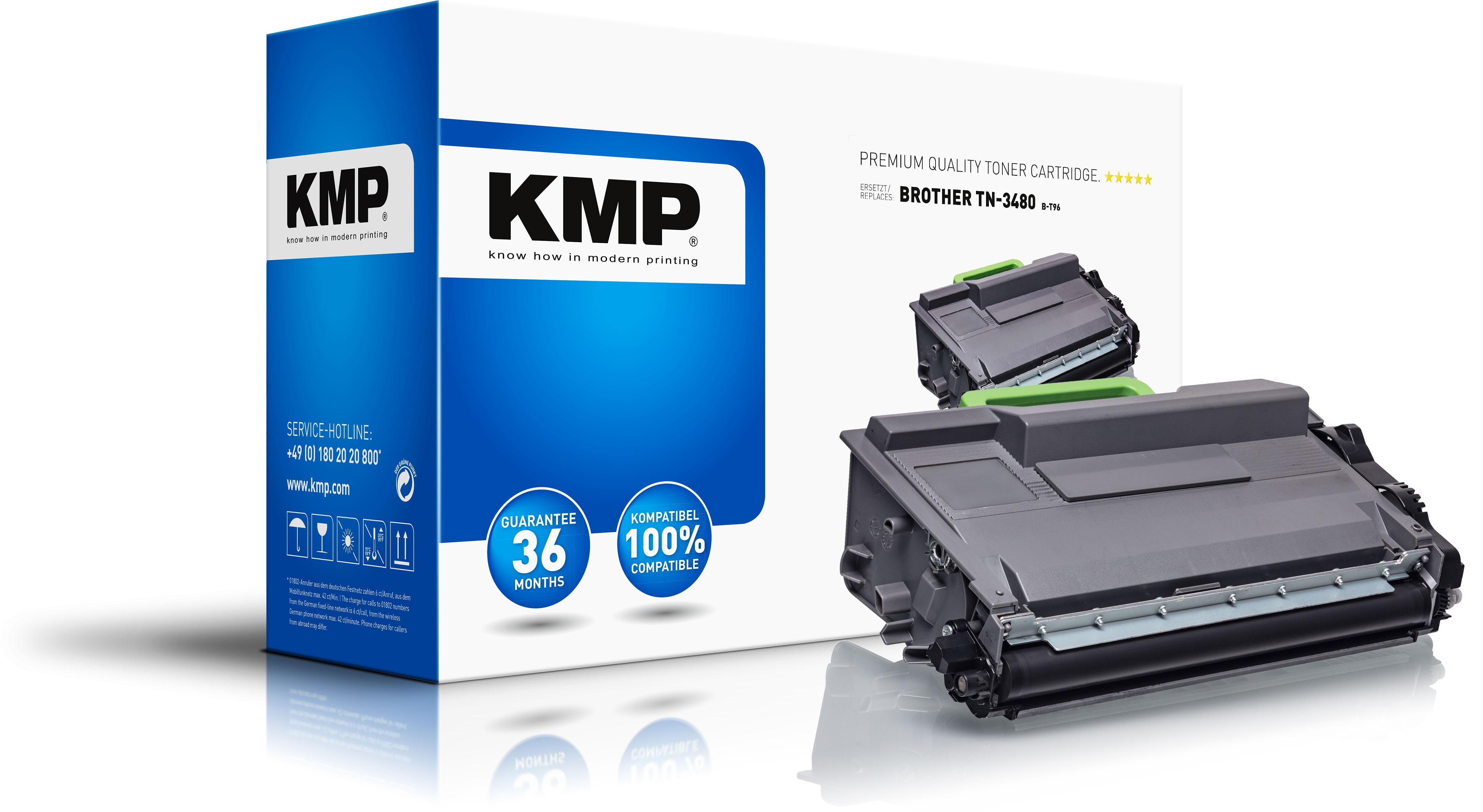 KMP 1263,0000 - 8000 Seiten - Schwarz - 1 Stück(e)