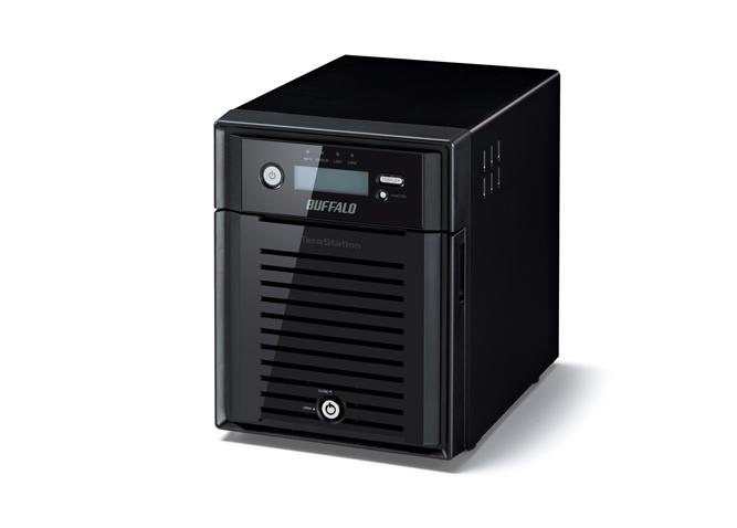 Buffalo TeraStation 5400DRW2 Windows Storage Server 2012 R2 8TB Speicherserver Eingebauter Ethernet-Anschluss Schwarz