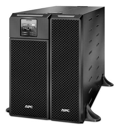 APC Smart-UPS On-Line Doppelwandler (Online) 6000VA 10AC-Ausgänge Rackmount/Tower Schwarz Unterbrechungsfreie Stromversorgung (UPS)