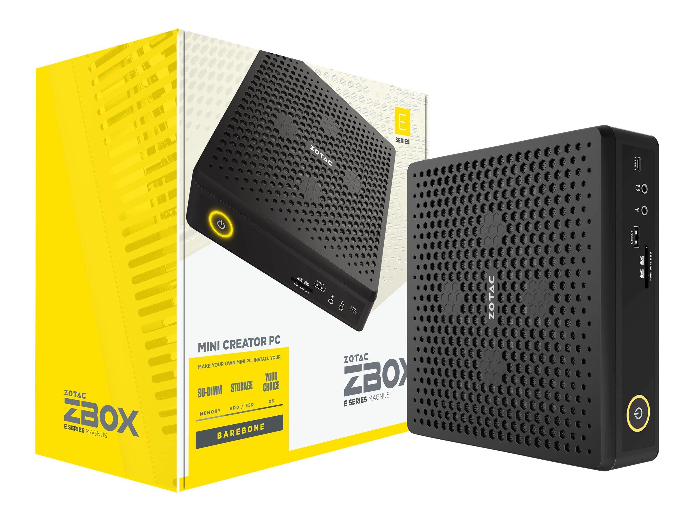 Vorschau: ZOTAC ZBOX E Series MAGNUS EN072080S - Barebone