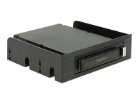 "3.5""/ 5.25""Mobile Rack for 2.5""SATA hard drives and SSDs - Mobiles Speicher-Rack - 2.5"""