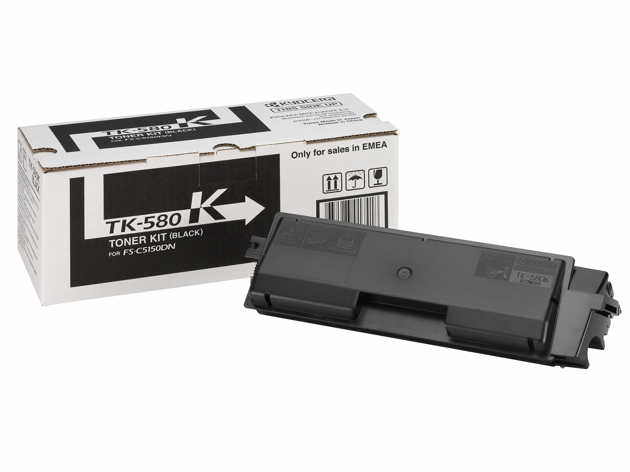 Kyocera TK 580K - Schwarz - Original