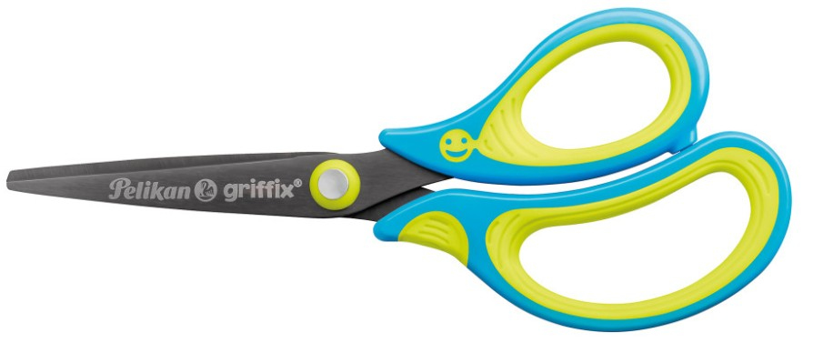 Pelikan 810241 - Griffix - Schere - Offset-Griff - Rechtshänder