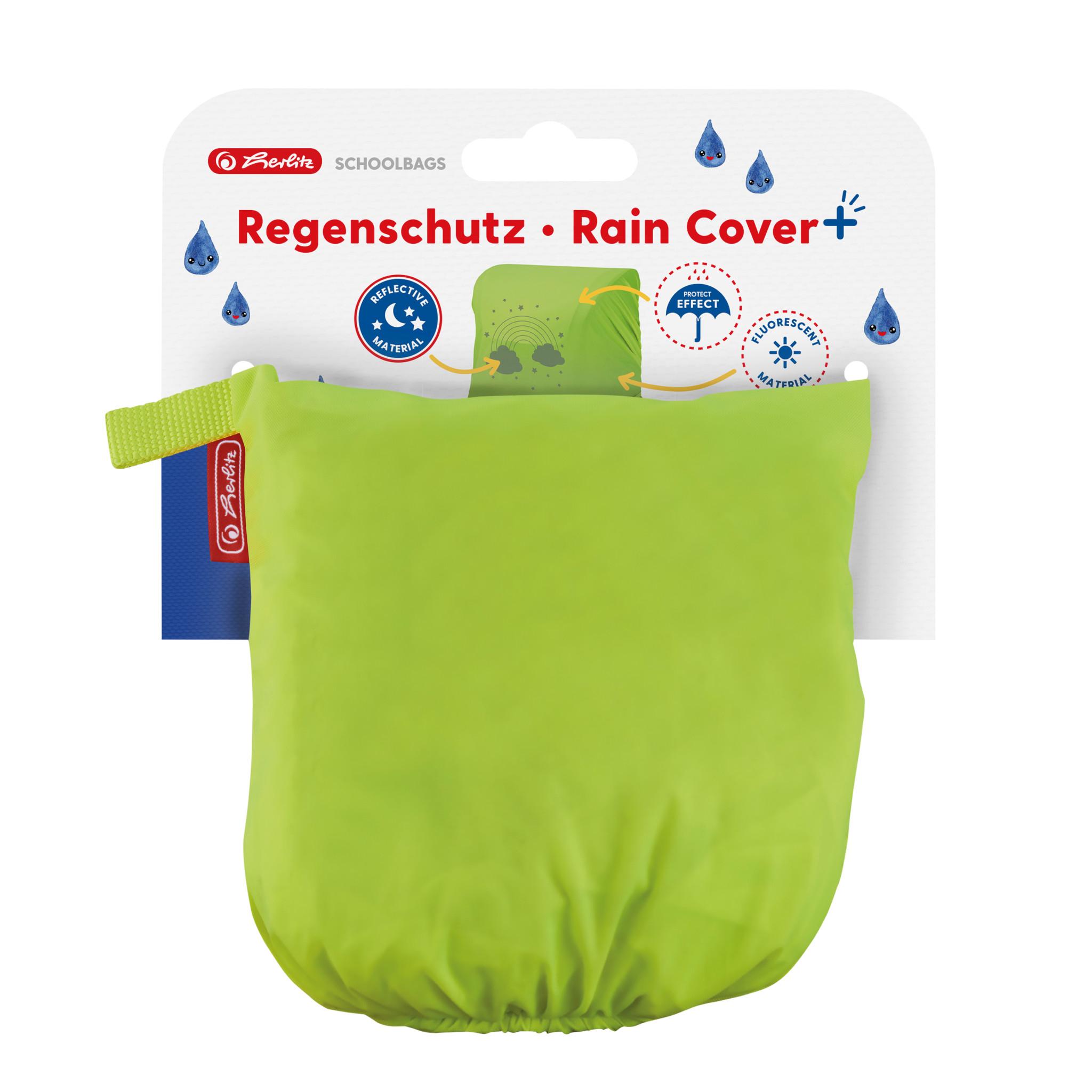 Herlitz 50033218 - Rucksack-Regenschutz - Gelb - Abbildung - 32 l