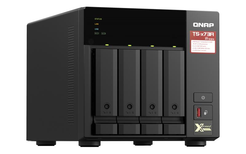 QNAP TS-473A - NAS-Server - 4 Schächte - SATA 6Gb/s