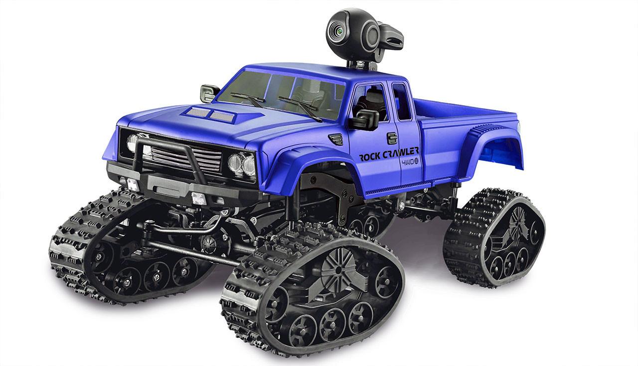 Amewi Pickup Truck FPV - Pickup-LKW - Elektromotor - 1:16 - Betriebsbereit (RTR) - Schwarz - Blau - Metall - Kunststoff