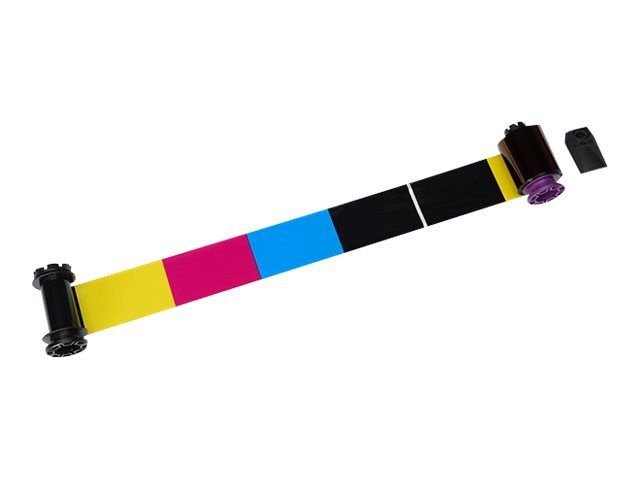Vorschau: Evolis Farbe (Cyan, Magenta, Gelb, Schwarz, Schwarz)