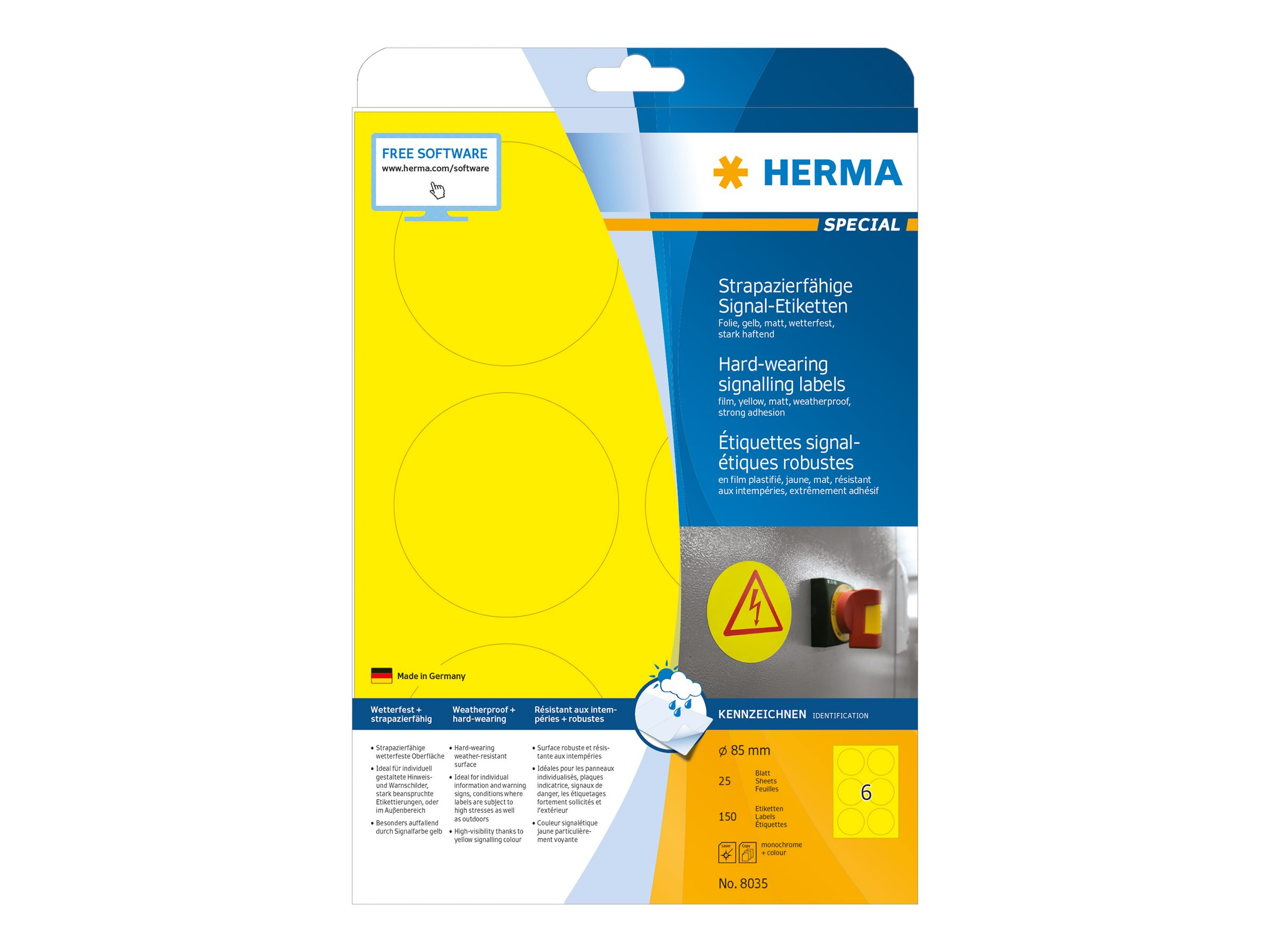 HERMA Special - Matt - selbstklebend