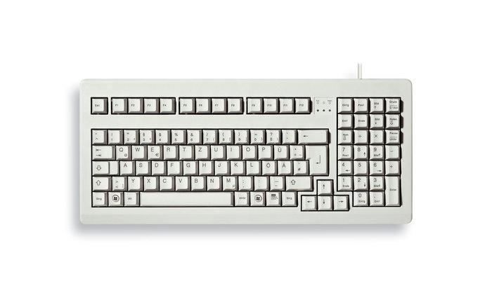 Cherry Classic Line G80-1800 - Tastatur - 105 Tasten QWERTZ - Schwarz, Grau
