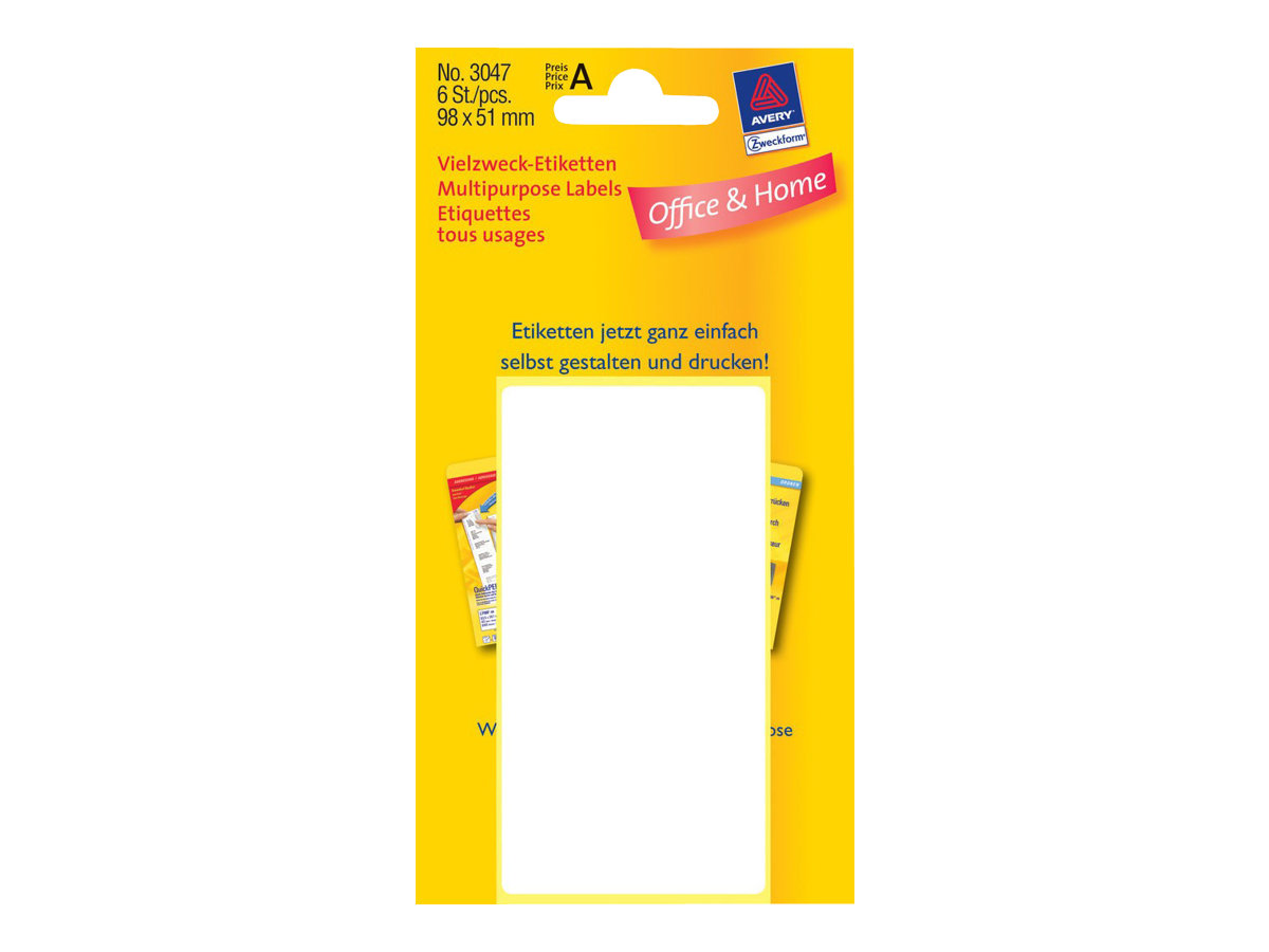 Avery Zweckform Multi-Purpose Labels 3047