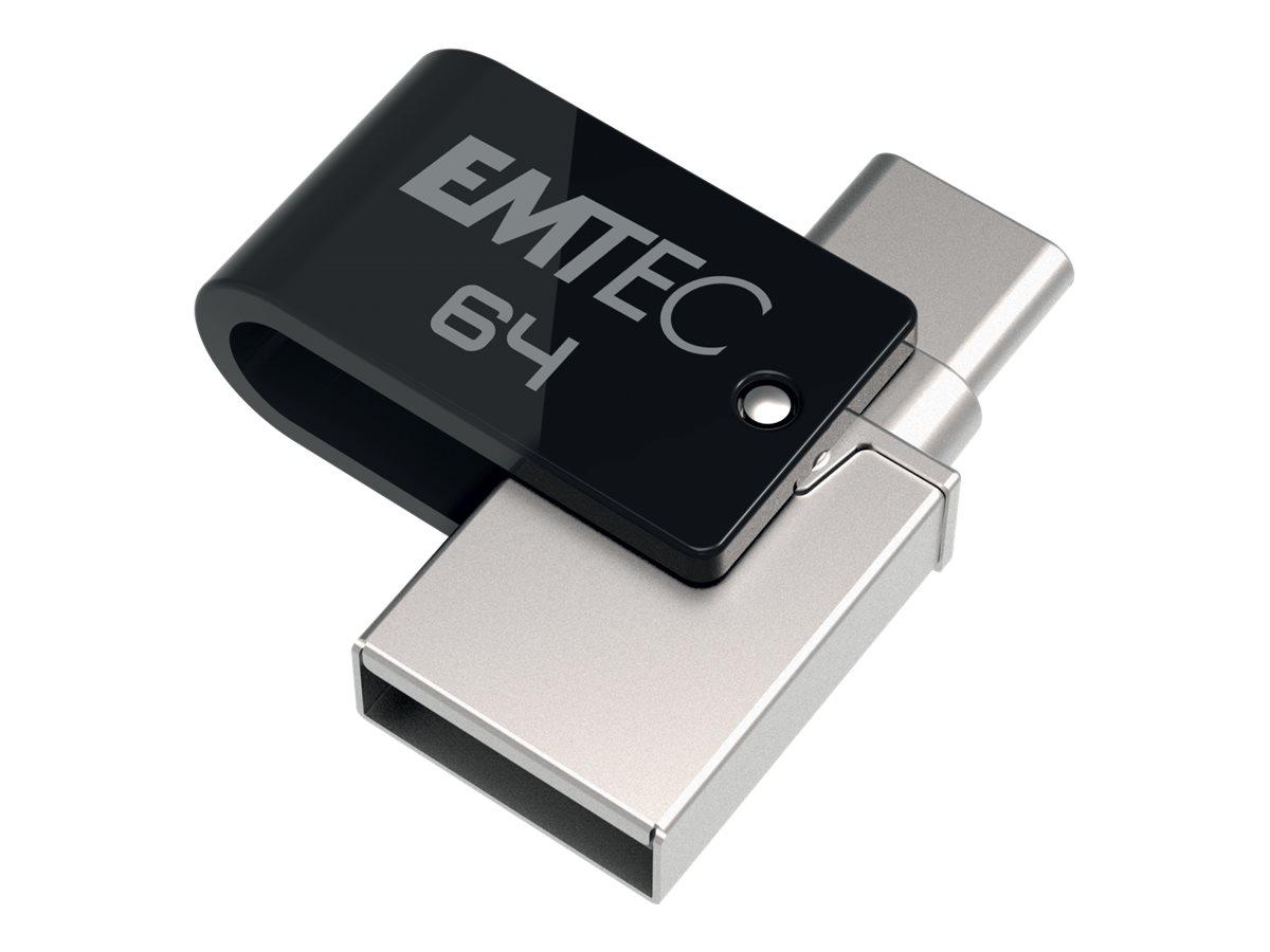EMTEC Mobile & Go T260C - Dual USB-Flash-Laufwerk