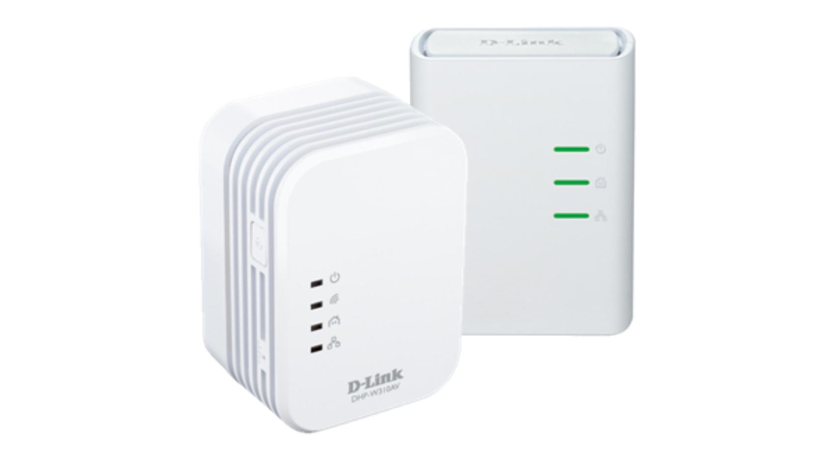 D-Link DHP-W311AV/E 500Mbit/s Eingebauter Ethernet-Anschluss WLAN Weiß 1Stück(e) PowerLine Netzwerkadapter