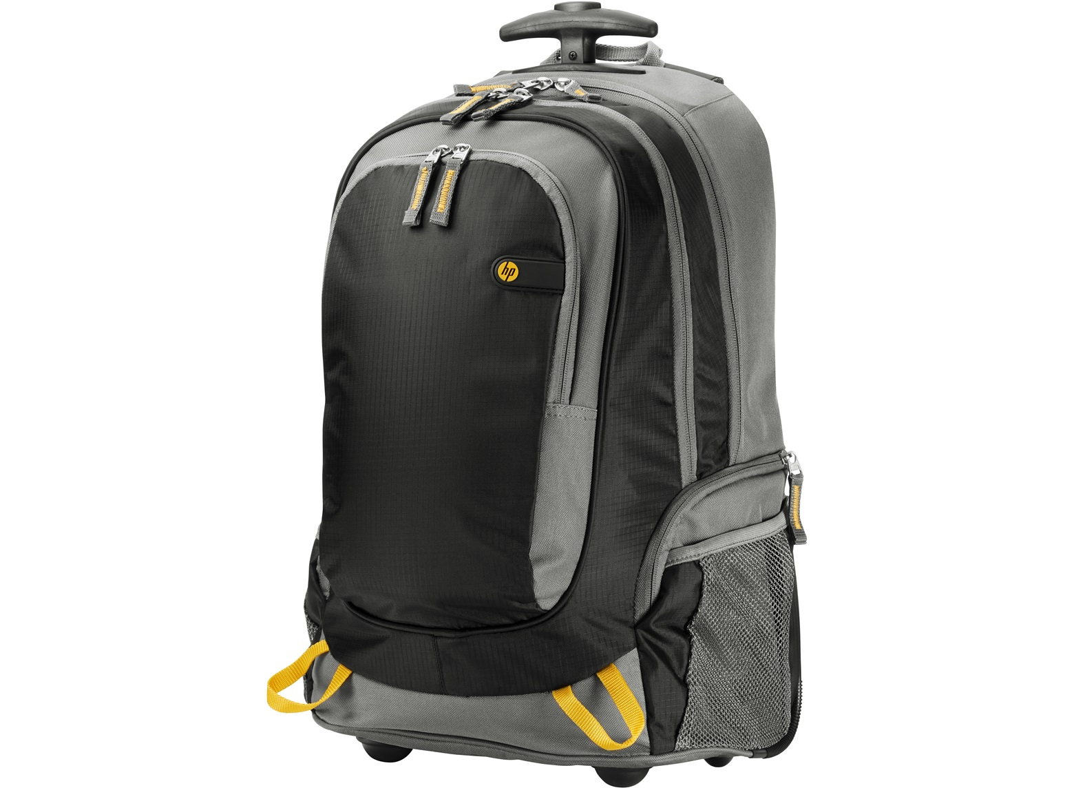 HP 15.6 Rolling Backpack 15.6Zoll Rucksack Schwarz - Grau - Gelb