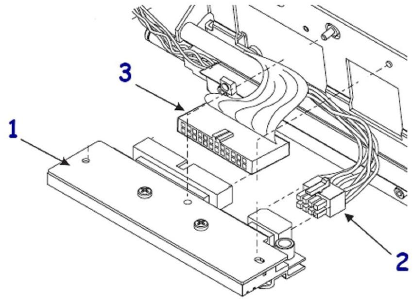 Zebra 1 - 203 dpi - Druckkopf - für Xi Series