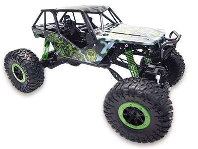 """Amewi 22217 Crazy Crawler""""green"""" 4wd Rtr 1 10 Rock 8+ 1610g"""