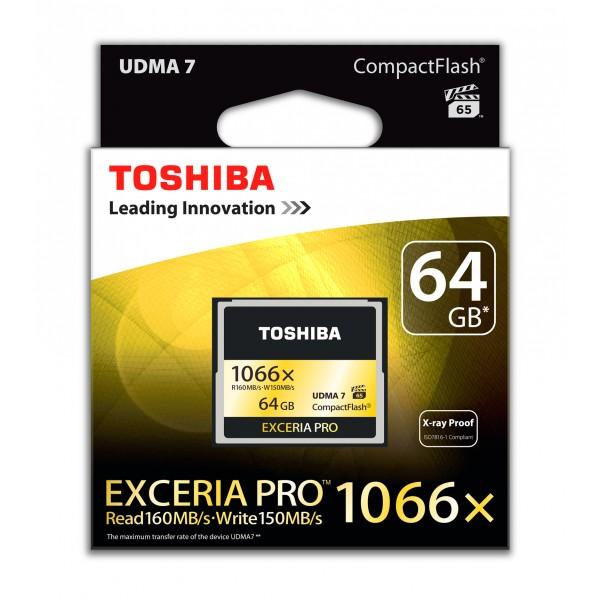 Toshiba EXCERIA Pro - Flash-Speicherkarte - 64 GB