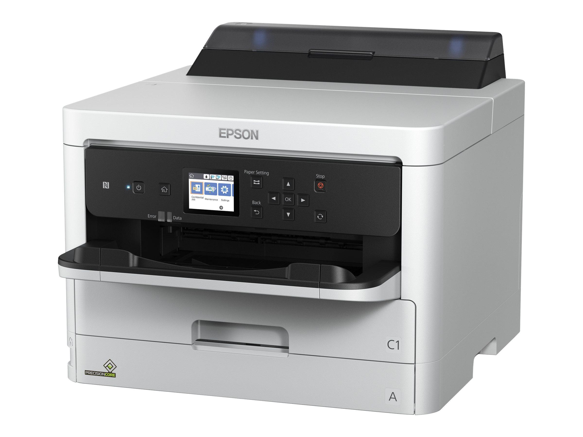 Epson WorkForce Pro WF-C5210DW - Drucker - Farbe - Duplex - Tintenstrahl - A4/Legal - 4800 x 1200 dpi - bis zu 34 Seiten/Min. (einfarbig)/