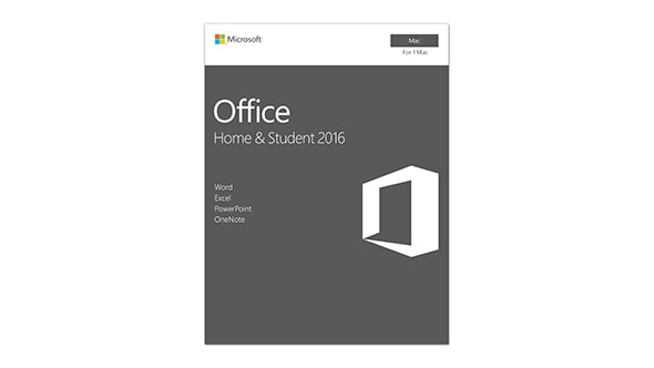Microsoft Office for Mac Home and Student 2016 - Box-Pack
