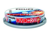 10 x DVD+RW - 4.7 GB 1x - 4x