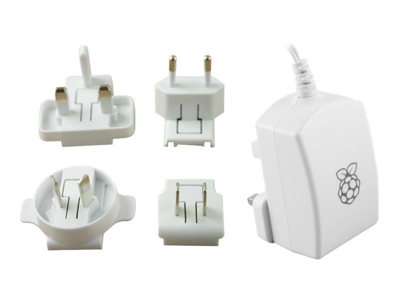 Raspberry Pi Pi T5875DV - Netzteil - 13 Watt - 2.5 A (Micro-USB Typ B)