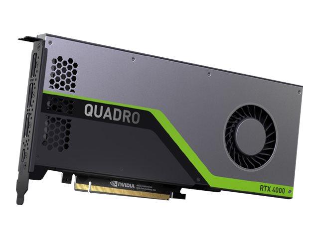 Lenovo NVIDIA Quadro RTX 4000 - Grafikkarten - Quadro RTX 4000 - 8 GB GDDR6 - PCIe 3.0 x16 - 3 x DisplayPort, USB-C - für ThinkStation P330 (2nd Gen)